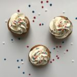 Chocolate Chip Cookie Dough Mini-Cupcakes with Buttercream Frosting
